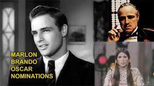 Marlon Brando Oscar Nominations - YouTube