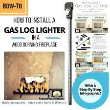 gas start fireplace how to install a gas log lighter in your fireplace gas starter fireplace gas start fireplace
