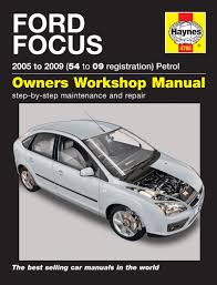 ford focus petrol 2005 2009 54 to 09 haynes work repair manual great for any professional or diy mechanic or enthusiast
