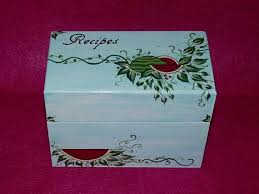 Decorative Recipe Box 100 best Rustic Wood Recipe Boxes images on Pinterest Wedding 82