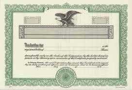 Stock Certificats Duke 10 Stock Certificates