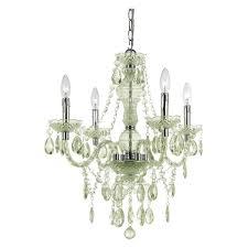 naples 4 light mini chandelier