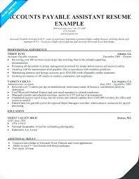 Accounts Payable Resume Objectives Canadianlevitra Com