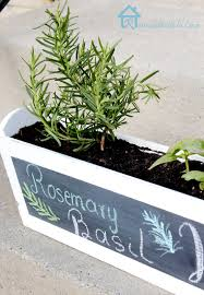 diy kitchen herb planter