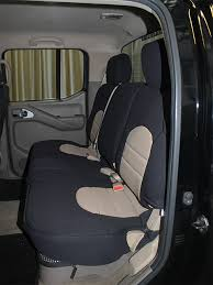 nissan frontier crew cab rear seat covers 05 cur