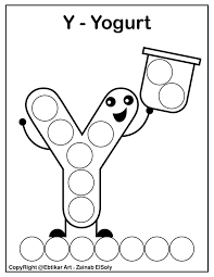 Educational and friendly way for toddlers and young children to learn, be entertained, and experience colors. Set Of Abc Dot Marker Coloring Pages