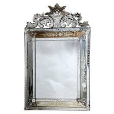 etched venetian glass mirror