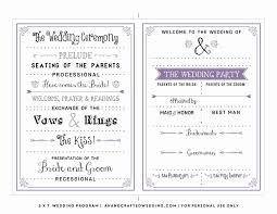 Wedding Reception Templates Free Wedding Reception Program Template Free Wilkesworks