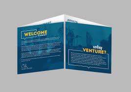 Two Page Brochure Template Single Fold Leaflet Rome Fontanacountryinn Com