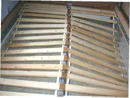 bed frame slats wood