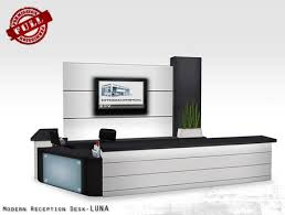 modern reception desk set nobel office. modern reception desk set luna full perm furniture nobel office s