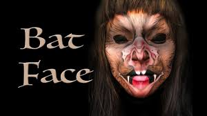 bat face makeup tutorial