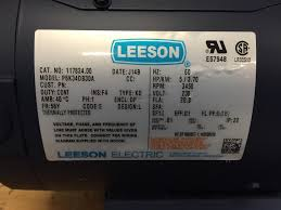 54421193 ingersoll rand 5 hp compressor motor electric 56y leeson does not apply