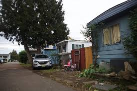 tribune file photo the oak leaf mobile home park in the cully neighborhood is one