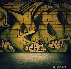 street art graffiti wall background