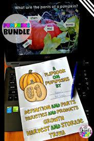 Pumpkins Activities Bundle Pumpkins Powerpoint And Flipbook