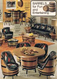 barrel furniture jcp 1975 my pas had this furniture in their game room i can still see all my relatives sitting down and playing