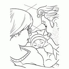 Kleurplaat Baby Meisje With Kleurplaat Geboorte Meisje Beste