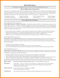 6 Sample Human Resources Generalist Resume Free Ride Cycles