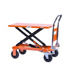 logistec scissor trolley all terrain 200kg