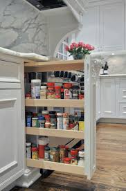 Kitchen Counter Storage Kitchen Pull Out Spice Rack For Deliver More Goods To You