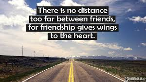 Quotes About Friendship Long Distance 100 Long Distance Friendship Quotes Images Chobirdokan 64