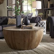 drum coffee table. Hatteras Drum Reclaimed Woodblock Barrel Coffee Table By INSPIRE Q Artisan