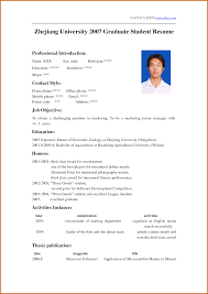 How To Make A Reume Resume Writing Template How To Write For Internship Cv It Student 24