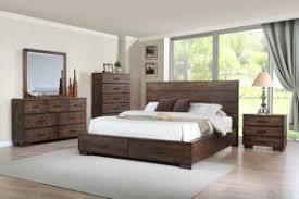 Crown Mark B8200K1211 Cranston King Bedroom Set W Dresser Mirror Nightstand CHEST NOT INCLUDED