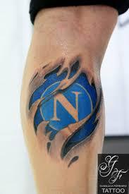 Tattoo Calcio Football Sscnapoli Calcionapoli Naples Napoli