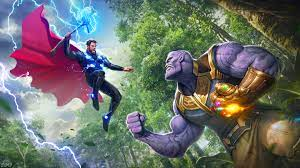 Thor Vs Thanos 4k 720P HD 4k Wallpapers ...