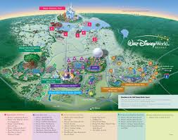 walt disney world property map  kennythepiratecom