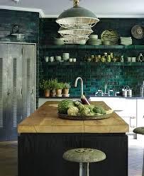 green tile backsplash tile ideas tile all over the wall trend interior design kitchen color lighting