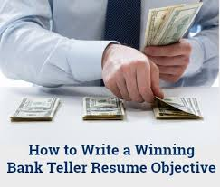 Objective For Resume For Bank Job Bank Teller Resume Objective