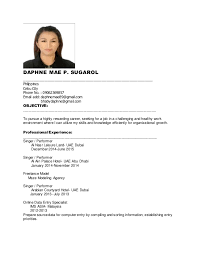 Job Resume Fascinating Daphne New Resume For Job