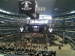 Dallas Cowboys Stadium Concert Seating Chart At T Stadium Cowboys Stadium Concert Seating Guide