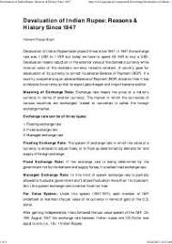 devaluaton history of n rupee docsity devaluaton history of n rupee