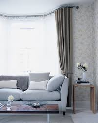 Living Room Curtain For Bay Windows 17 Best Ideas About Bay Window Curtain Rail On Pinterest Window