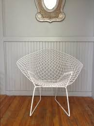 vintage mid century bertoia diamond wire chair read listing before purchasing