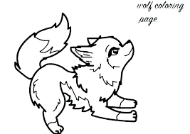 Wolf Coloring Pages To Print Baby Cub Scout Printables Pictures Free