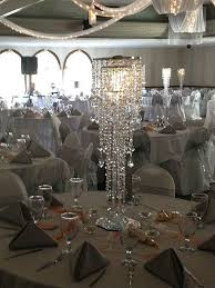 wonderful chandelier centerpiece crystal wedding al ohio for table diy with flower uk