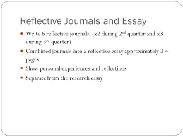 legacy high school english senior action research project  13 reflective journals and essay