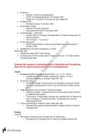 study notes for all possible essays in the hsc economics exam  study notes for all possible essays in the hsc economics exam