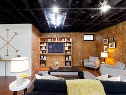 Photo Page HGTV - Exposed basement ceiling
