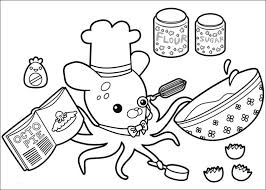 Small Picture Octonauts coloring pages to download and print for free