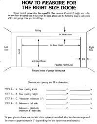 2 car garage door dimensionsLuxury Single Car Garage Door Width B34 for Great Home Decoration