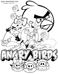 15 Free Printable Angry Birds Coloring Pages Free Printable