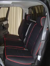 nissan titan full piping seat covers rear seats