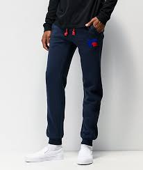 Russell Athletic Ernest Navy Jogger Sweatpants