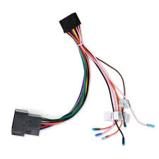 car stereo radio iso wiring harness connector power cable in cables iso wiring harness colors car stereo radio iso wiring harness connector power cable in cables, adapters & sockets from automobiles & motorcycles on aliexpress com alibaba group